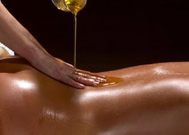 массаж масла