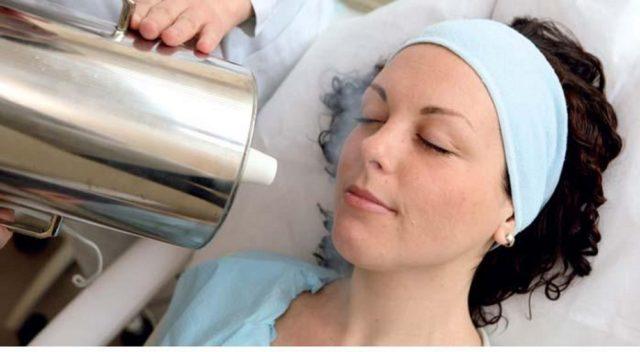 процедура жидким азотом