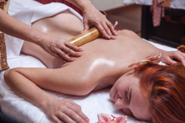 массаж скалкой