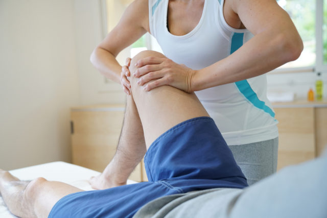 спортивный массаж