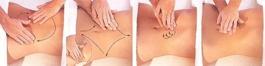 эффективный массаж живота для похудения