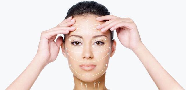 Стимуляция кожи вокруг глаз
